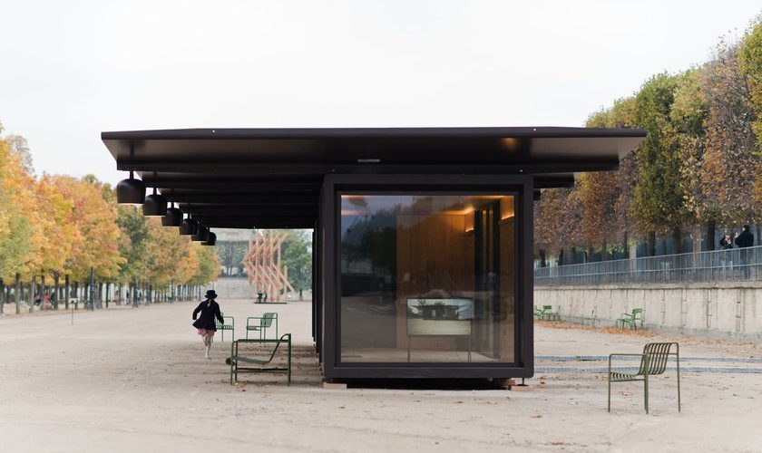 Le kiosque de Ronan et Erwan Bouroullec pour Emerige