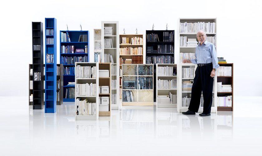 """Décès de Gillis Lundgren, designer de la bibliothèque Ikea """"Billy"""""""