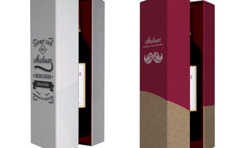 Design du nouveau coffret cuir Malesan
