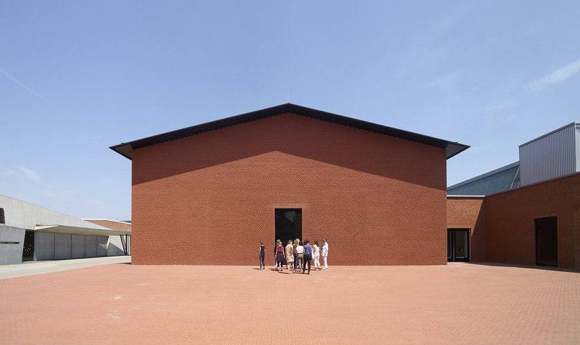 Schaudepot, un nouveau bâtiment sur le campus Vitra