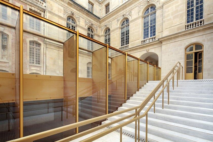 dominique perrault r habilite le pavillon dufour versailles intramuros. Black Bedroom Furniture Sets. Home Design Ideas