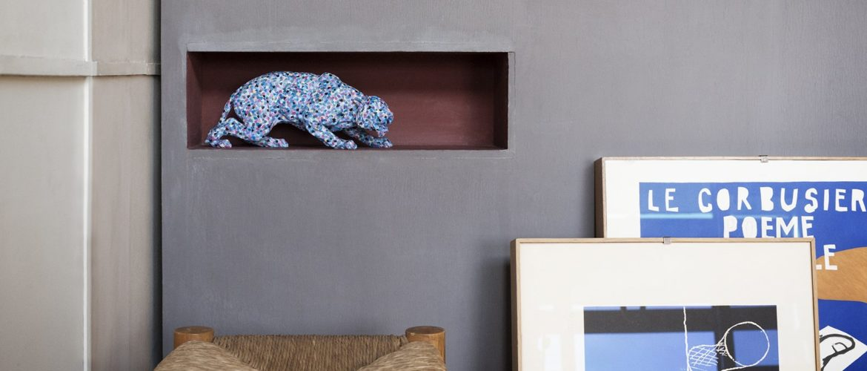 Mendini investit l'appartement 50 de la Cité Radieuse de Marseille