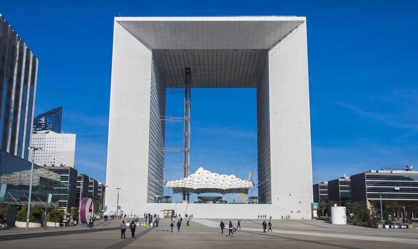 Réouverture de la Grande Arche