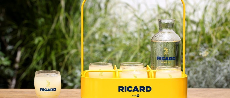 Les 5.5 Designers revisitent le panier Ricard