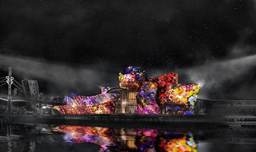 Pour ses 20 ans, le Guggenheim Bilbao voit les choses en mapping