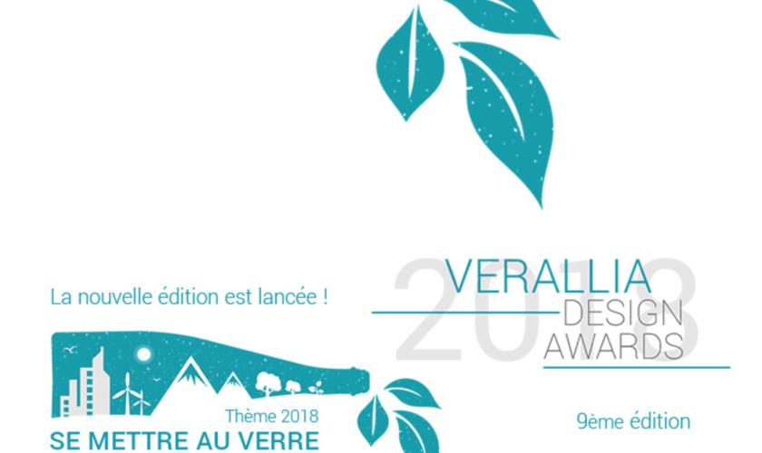 « Verallia Design Awards » :  9ème édition