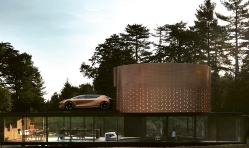 """La voiture de l'année 2017: Le concept car """"Symbioz"""" de Renault"""