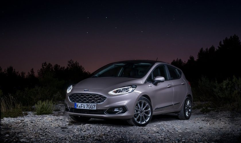 La Ford fiesta sous blason italien.