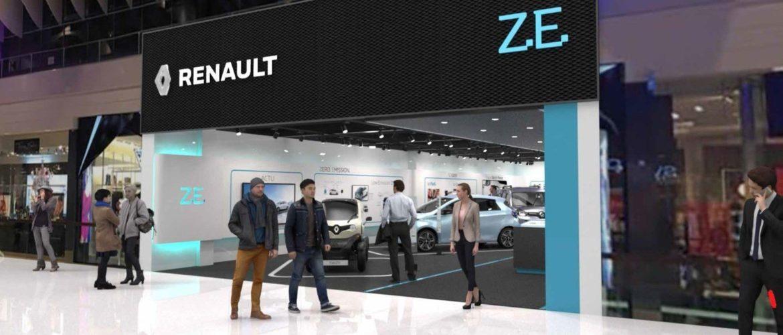 Un «Renault Électricité Vehicle Expérience Center» à Stockholm