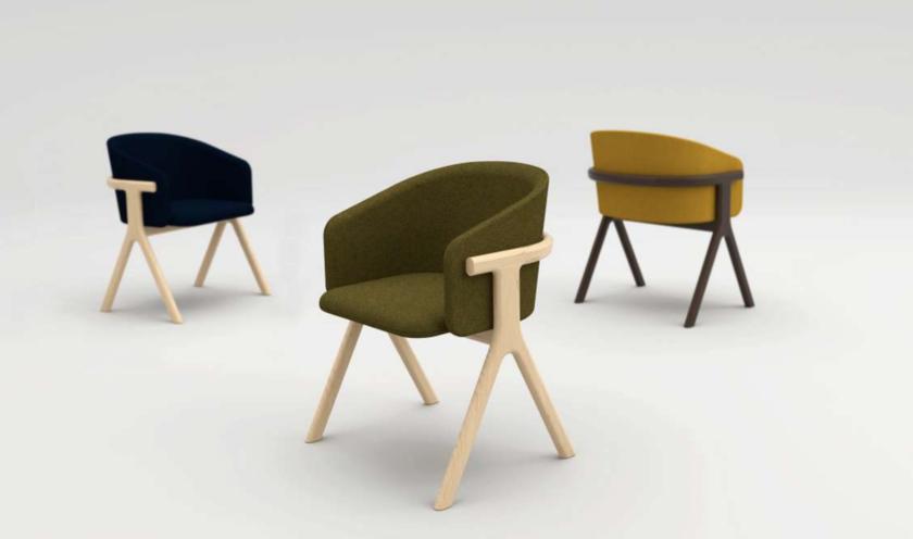 La chaise Eora de Guillaume Delvigne
