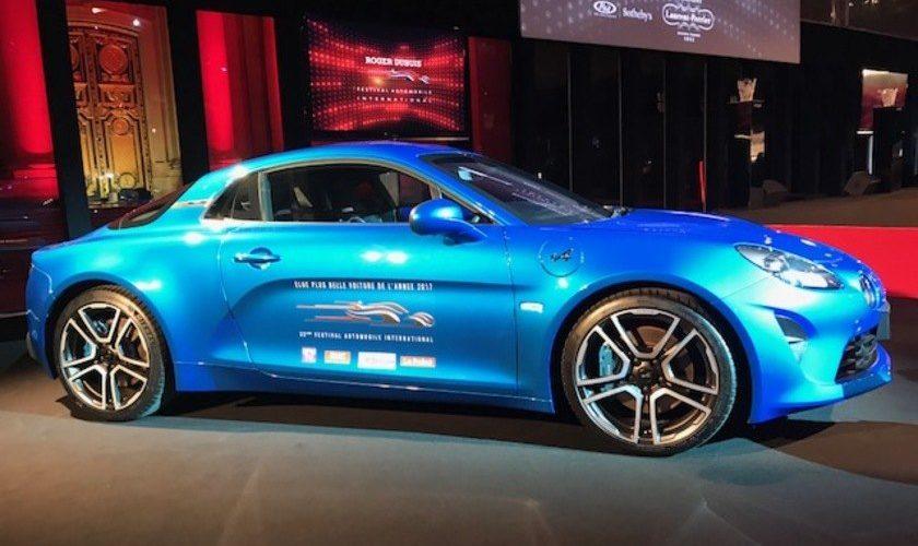 La Renault Alpine grand prix du jury lors du FAI