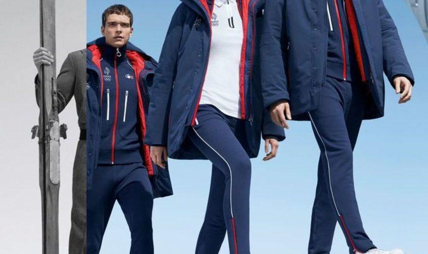 Lacoste sur le podium olympique
