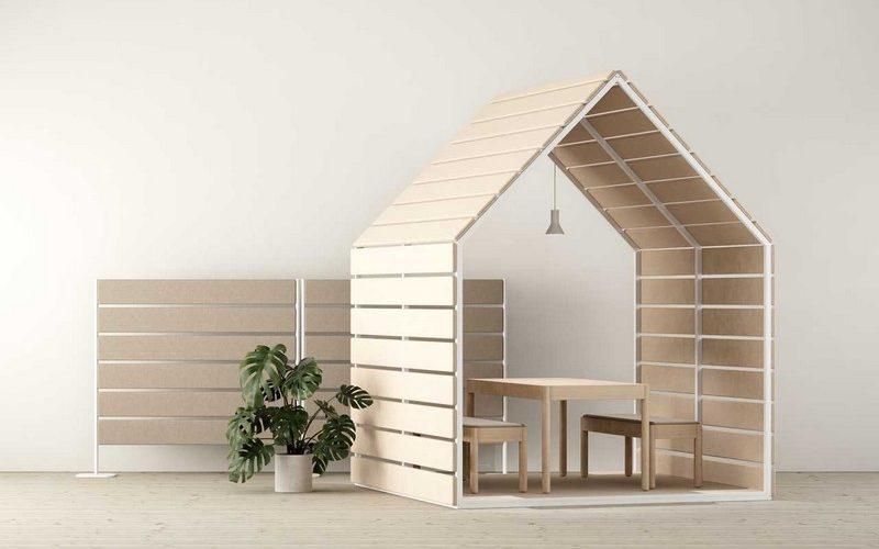 Limbus Barn & Fences, l'aménagement pour open space