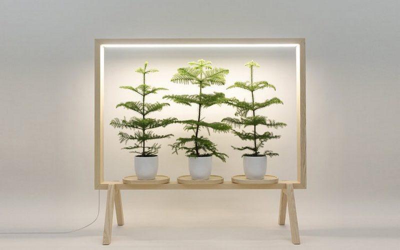 GreenFrame, l'écran végétal dessiné par Johan Kauppi