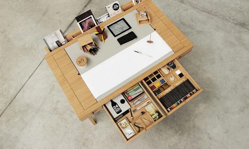 Artistes en tout genre, ce bureau est fait pour vous !