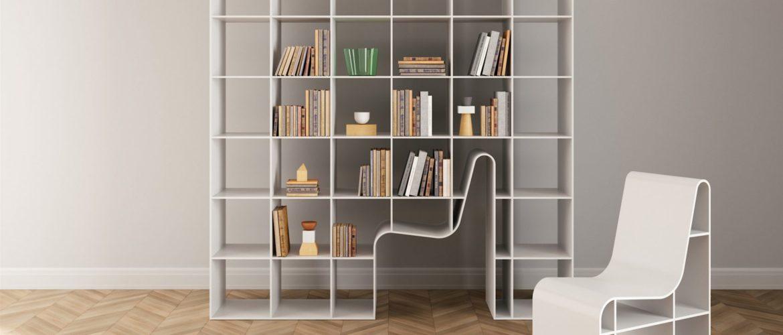 Bookchair, le mobilier intégré par l'architecte Sou Fujimoto
