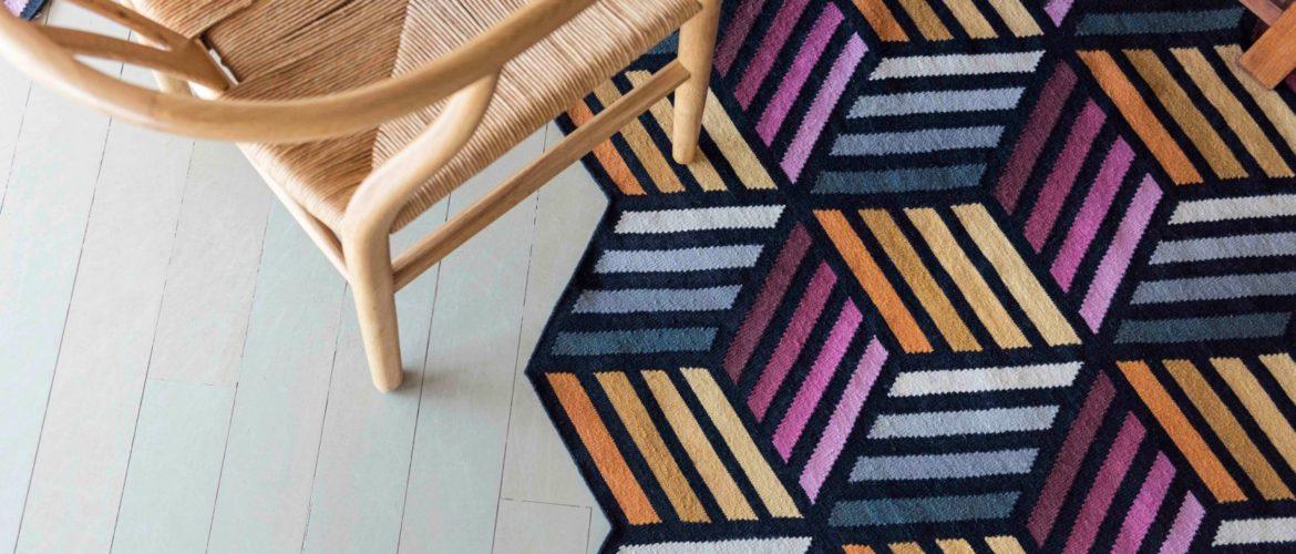 Parquet, le tapis ludique et coloré conçu par le studio Front