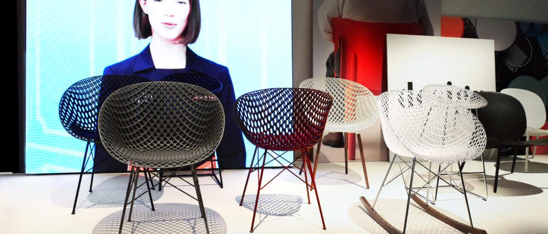 Milan 2018 :  La chaise MATRIX de Tokujin Yoshioka