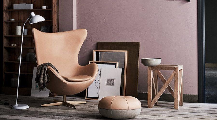 Le légendaire fauteuil Egg de Arne Jacobsen