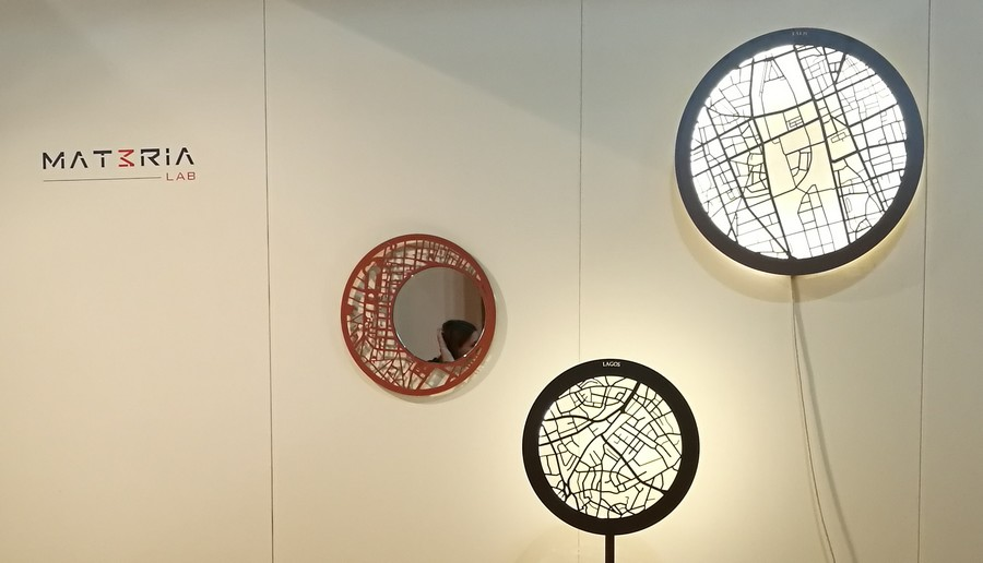 mat3ria_lab_design_milan_salone_del_mobile_2018_trame_urbane_table_miroir_lampe