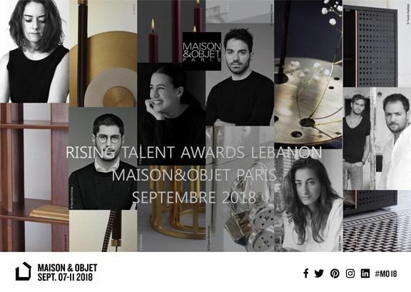 MAISON&OBJET présente les Rising Talent Awards spécial Liban