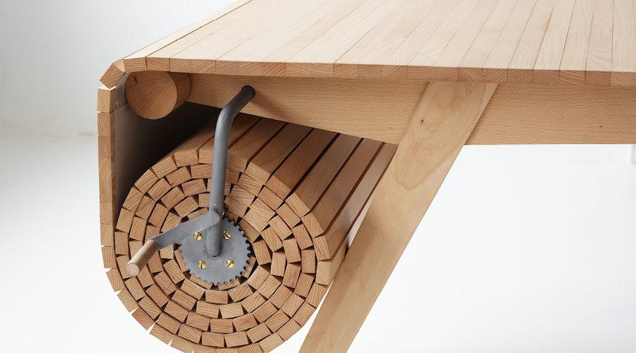 Roll Out, la table intelligente du designer Marcus Voraa