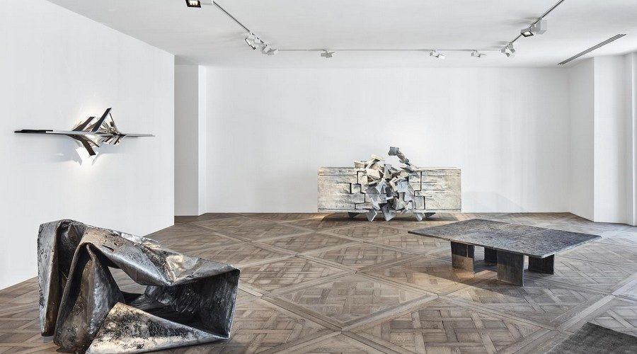 Vortex, l'exposition londonienne consacrée à Vincent Dubourg