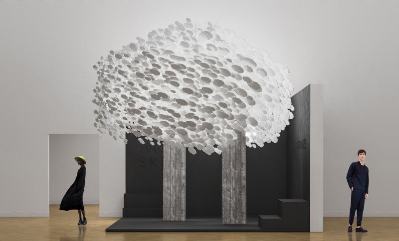 L'installation de Cotto d'Este à la Biennale d'Architecture de Moscou