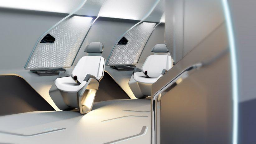 BMW designe un concept d'intérieur pour le Virgin Hyperloop One