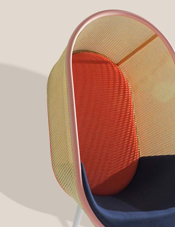 Cocoon_Kevin_Hviid_Martin_Kechayas_design_fauteuil_années_60_sixties