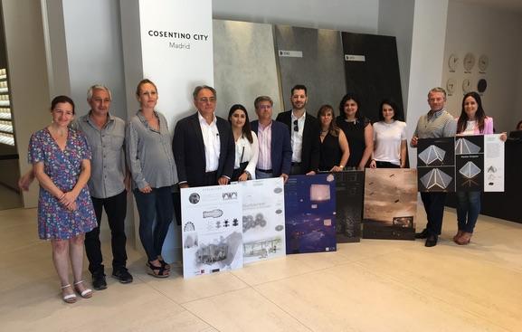 Trois lauréats français au Cosentino Design Challenge 2018