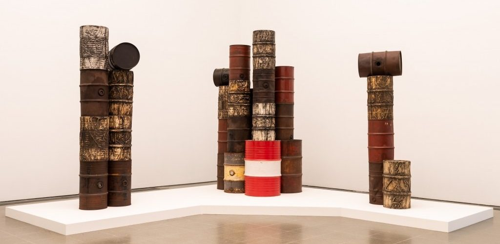 Christo et Jeanne-Claude à la Serpentine Gallery de Londres !