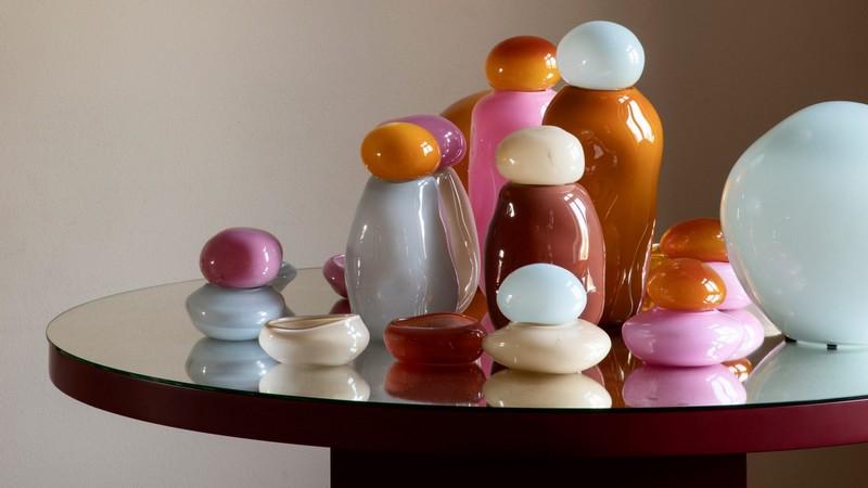 Les lampes acidulées de la collection Candy, par Helle Mardahl