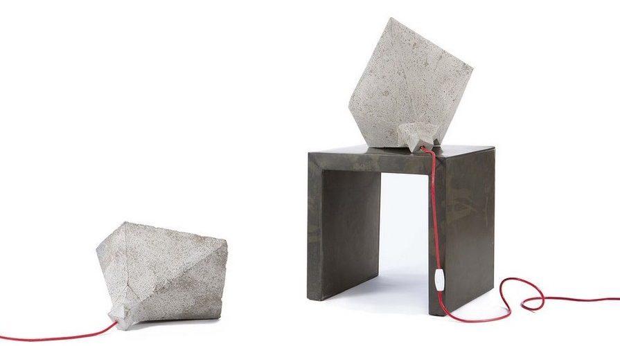 Les lampes en béton du studio LaLaYa Design
