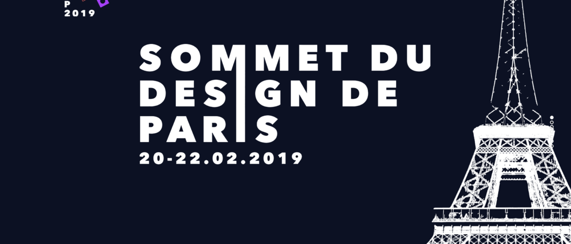 Participez au Sommet du Design de Paris 2019 (video)