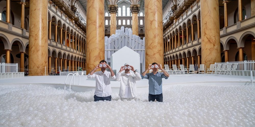 """Fun House"", l'exposition de Snarkitecture à Washington"