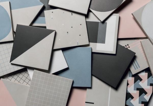 Futura, la collection de carreaux de céramique, inspirée par le Bauhaus