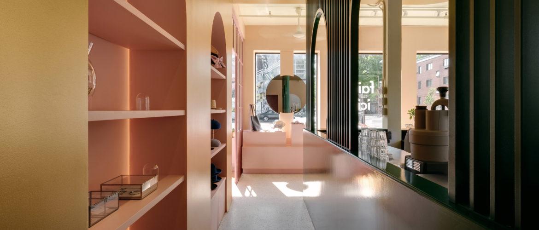 Pastel Rita, le café-boutique rénové par Appareil Architecture