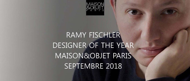 Ramy Fischler mis à l'honneur au Salon Maison & Objet !