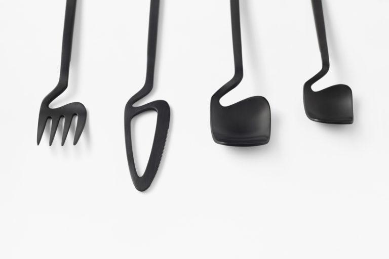Nendo imagine des couverts minimalistes pour Valerie Objects