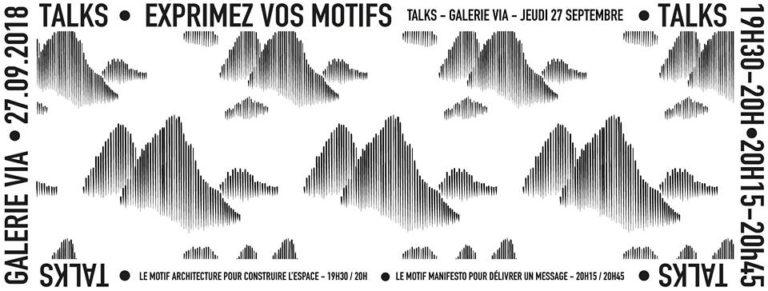 «Motifs All Over» s'expose à la Galerie VIA