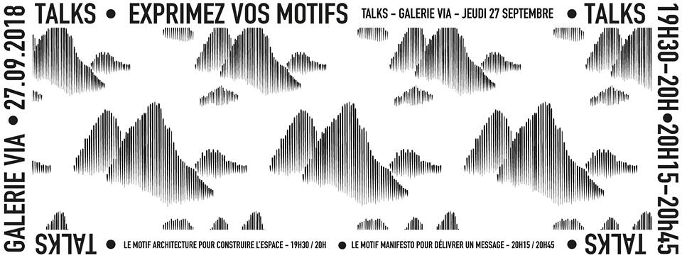 """Motifs All Over"" s'expose à la Galerie VIA"