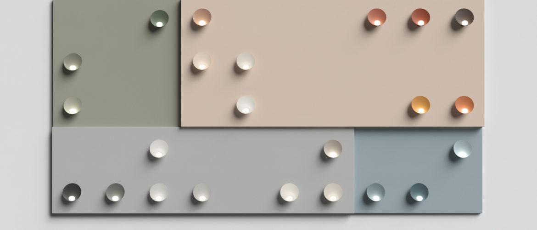 Vibia dévoile son nouveau système de couleurs «Chromatica»