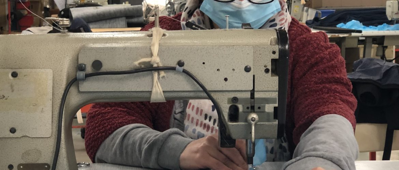 Covid-19 : la Maison Duvivier Canapé engage son savoir-faire en couture