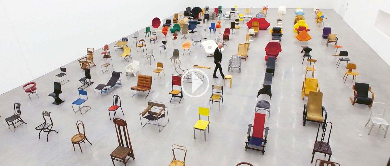 """Vitra retrace l'histoire moderne de la chaise avec son film """"Chair Times"""""""