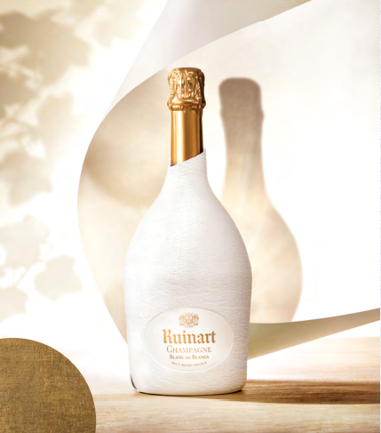 Seconde peau, le nouveau packaging de Ruinart