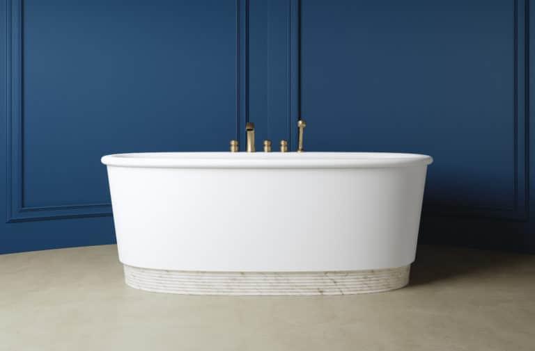 """Nicola Bertini : """"Autrefois espace purement fonctionnel, la salle de bain est devenue un cocon où l'on prend soin de soi"""""""