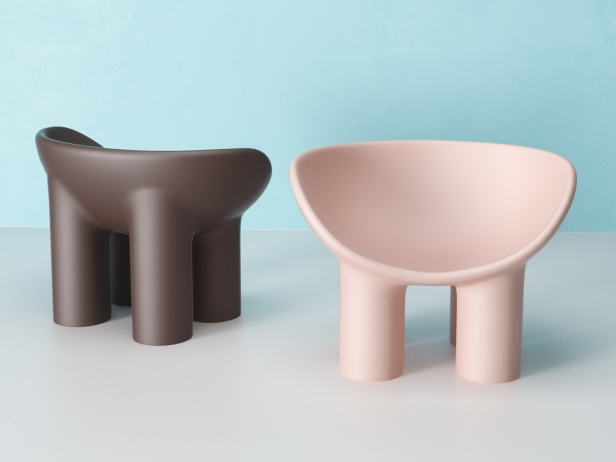 Le fauteuil Roly Poly signé Faye Toogood