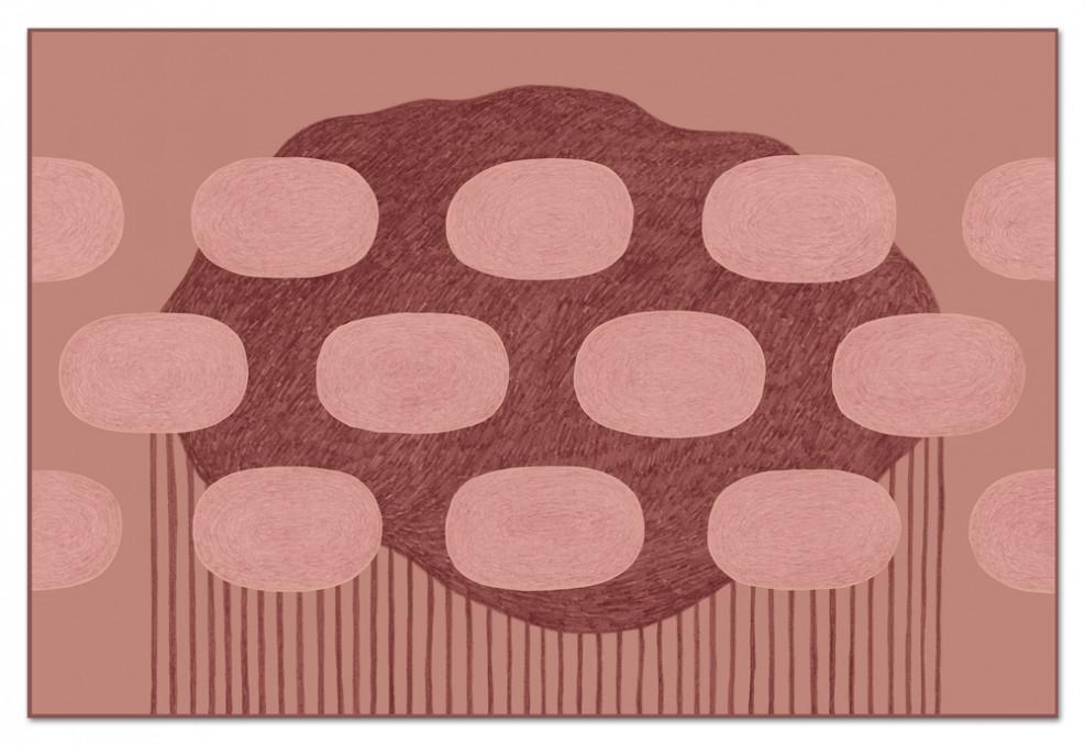 Le tapis-édition limitée Cumulus par Guillaume Delvigne