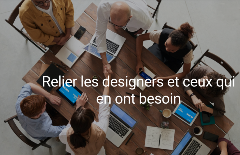 Offres d'emplois et stages : lancement de Designlink.fr